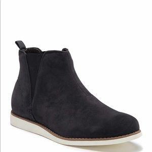 Reserved Footwear Navy Slip on Boot NEW